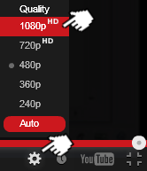 Highest quality playback setting on YouTube
